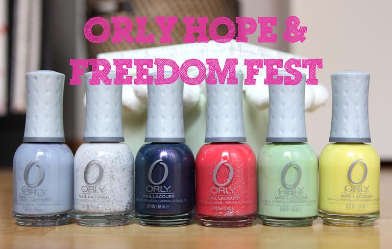 Orly hope & freedom fest