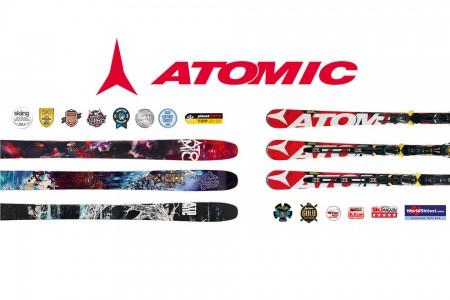 Nejvyšší ocenění pro kolekci Atomic 2012/13