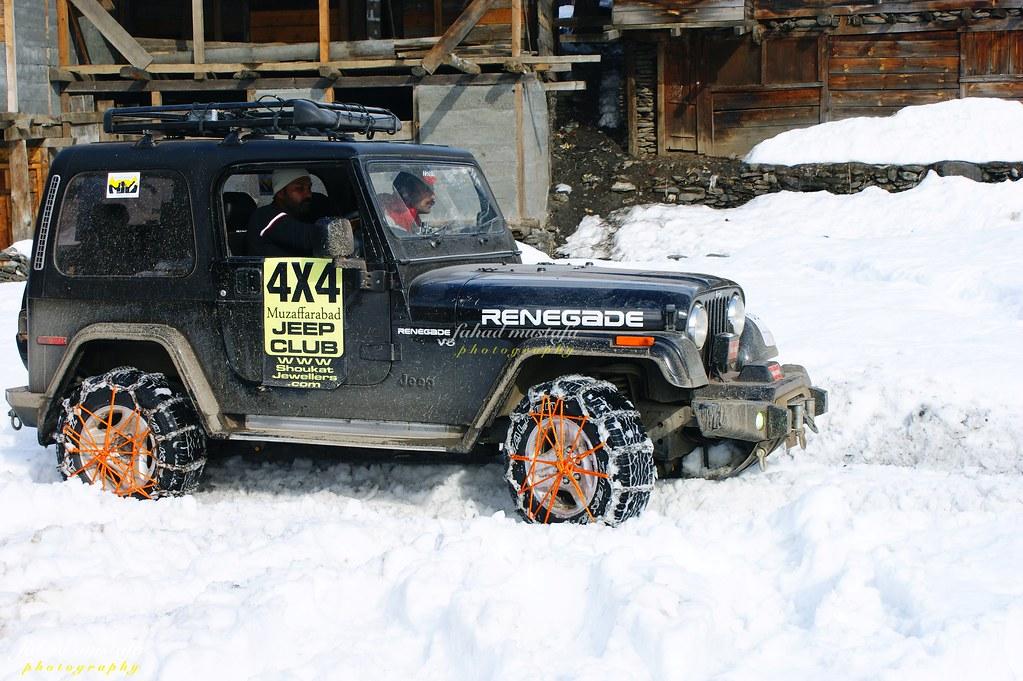 Muzaffarabad Jeep Club Neelum Snow Cross - 8470912315 b0f8eed576 b