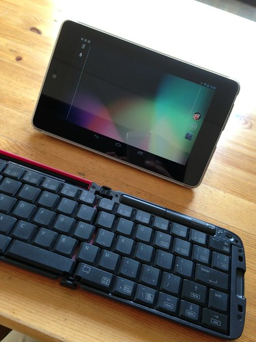 Nexus 7 elecom キーボード