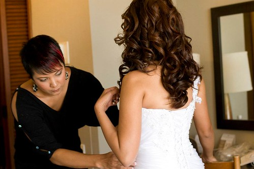 Elly's Formal Wear Gown Fitting, Photo Courtesy of Elly's Formal Wear