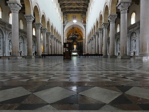 Inside the Cathedral of Messina