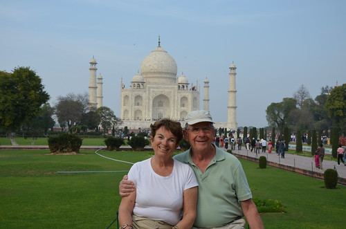 Taj Mahal Tourists by Ginas Pics