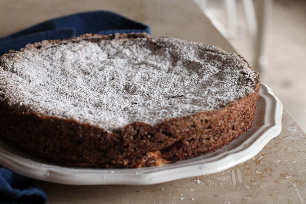 Italian Chocolate-Almond Torte | the moveable feasts