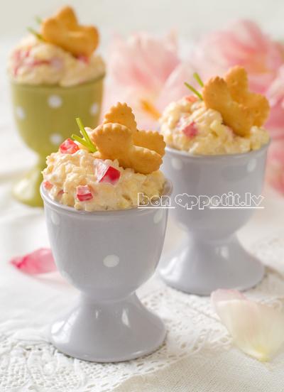 Egg appetizer
