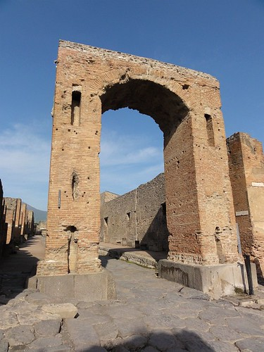 Arch of Caligula in Pompeii