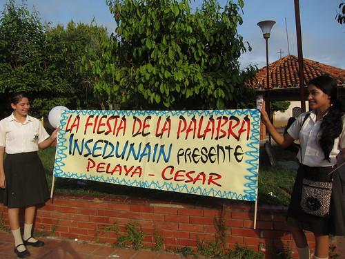 Alborada. Fiesta de la Palabra 16. Pelaya, Cesar. Archivo Liebre Lunar
