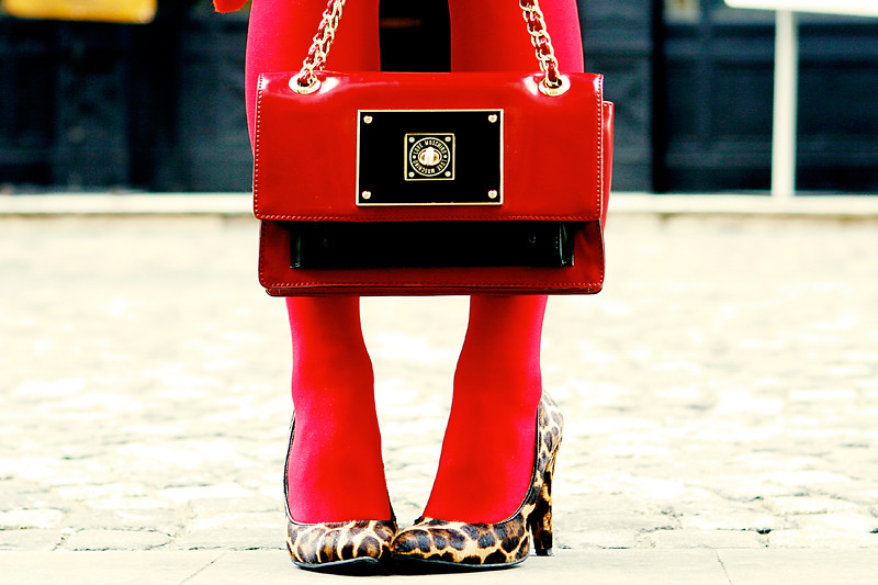 street style fashion in red by diana enciu and alina tanasa