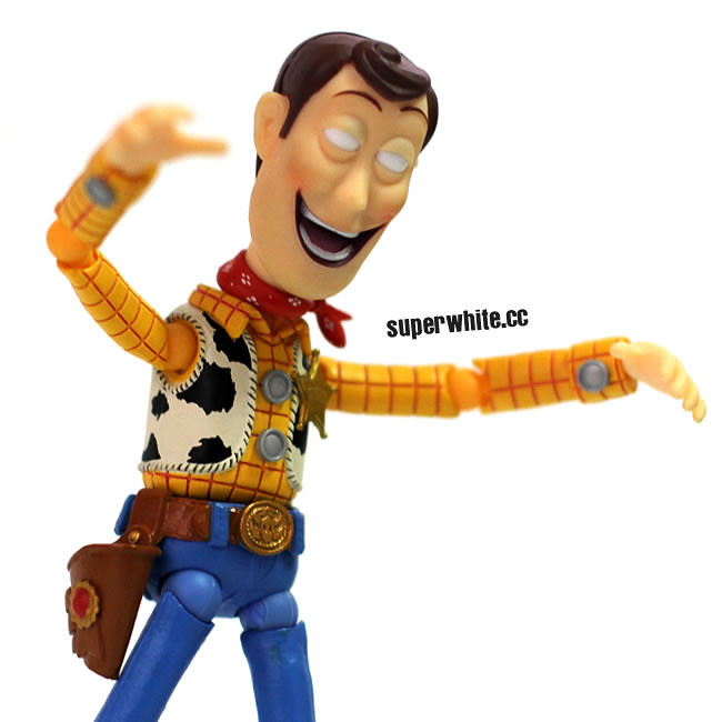 Ow! Who bit me?....... I'm a Zombie Woody!