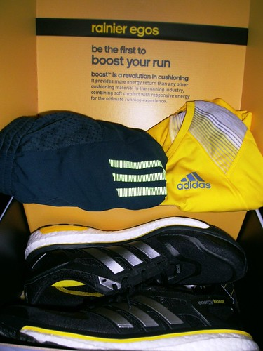 the running enthusiast - adidas energy boost running shoes