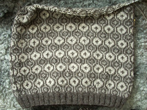 Faroese sweater in progress by Asplund