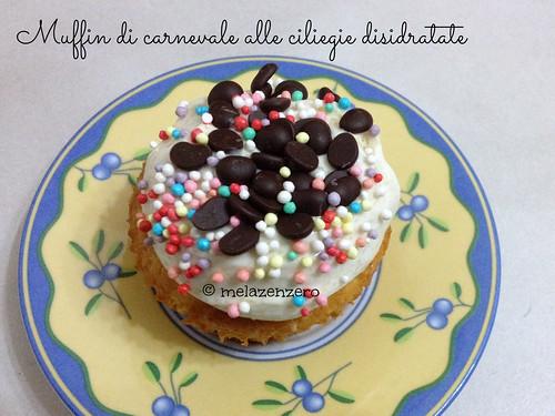 muffin di carnevale
