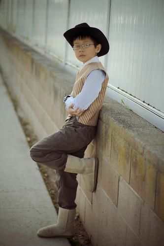 loitering cowboy