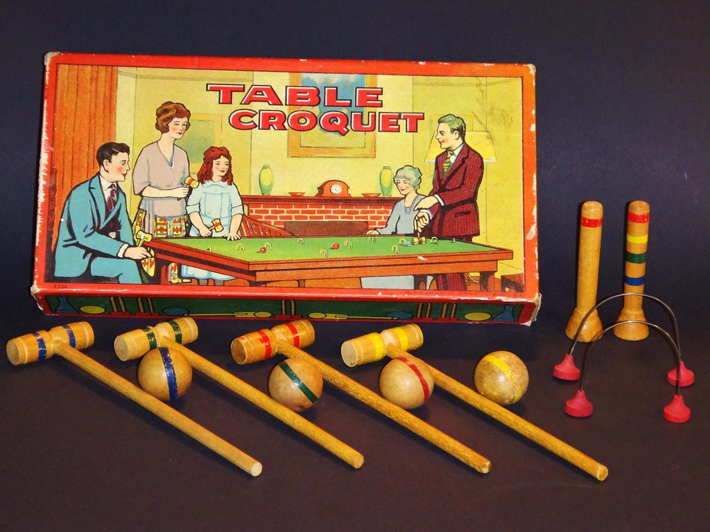 Milton Bradley Table Croquet 4333