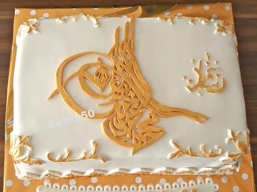 Osmanli Tugrali pasta