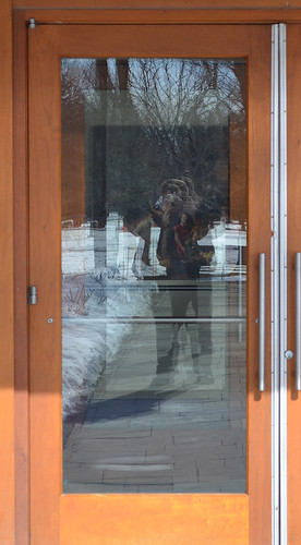 Self portrait - Henry Wallace Visitor Center - FDR Presidential Museum and Library - Hyde Park NY - 2013-02-17
