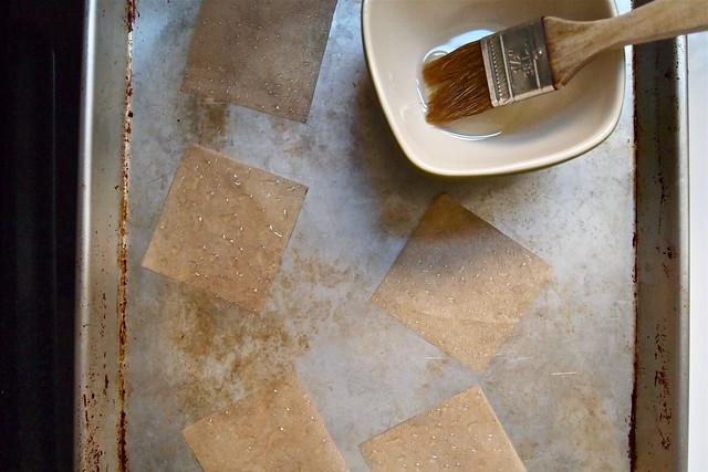 Parchment squares