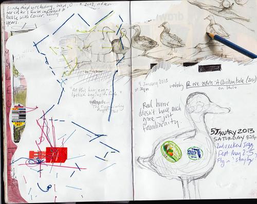 Sketchbook Jan-Feb