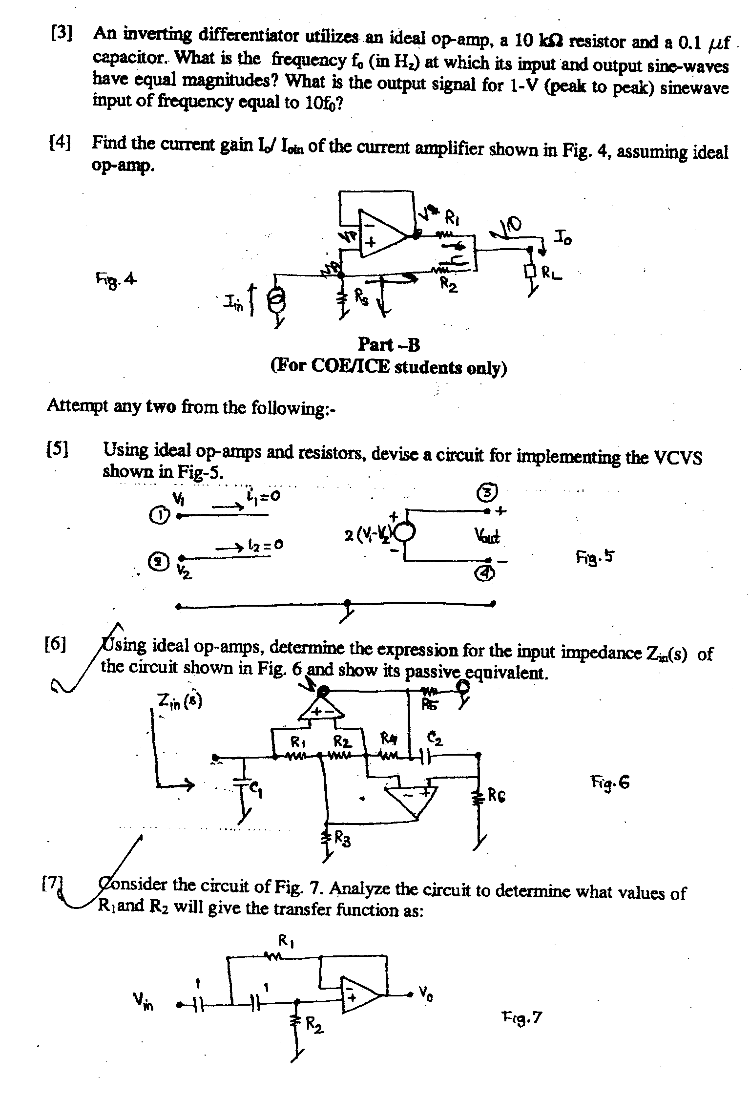 NSIT: Question Papers 2009 – 5 Semester - Mid Sem - EC-COE-IC-304
