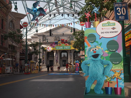Launch of Sesame Street Spaghetti Space Chase