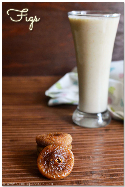 Fig Milkshake Recipe