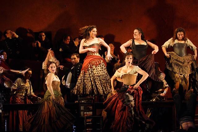 The Royal Opera in Carmen © ROH / Catherine Ashmore 2008