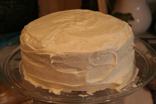 Downy Yellow Cake with Brown-Butter Swiss Meringue Buttercream