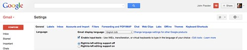 Google IME: Chinese Input in Gmail