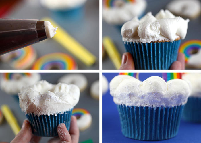 Frosting clouds
