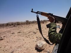 Caminho até Las Geel na Somalilândia