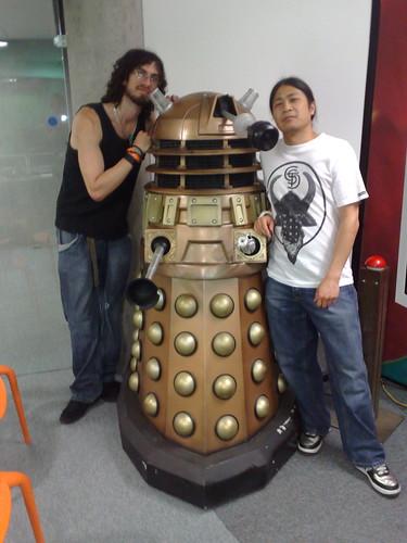 Me + B + DALEK @ BBC