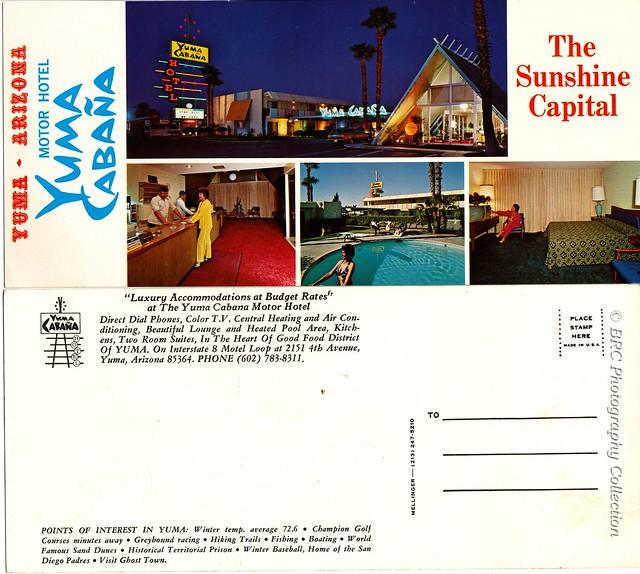 Yuma Cabana Motor Hotel, Yuma, AZ