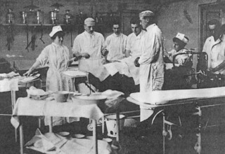 Base Hospital #5 operating room