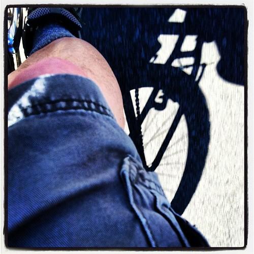 Bike knees. by rraabfaber