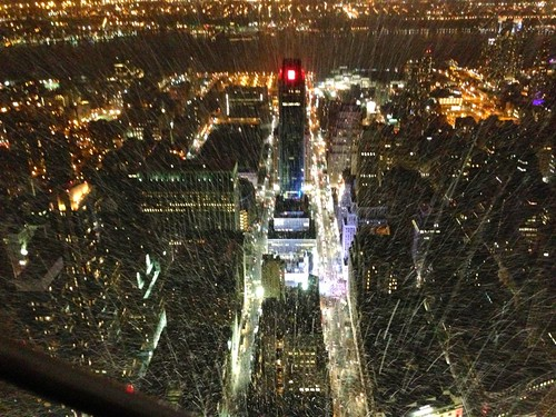 Nightscape of New York City