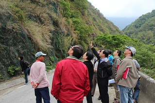 3月11日,居民、花蓮縣文化局、公路總局第四養工處以及關心小天祥邊坡工程的民眾都來聽工程說明。