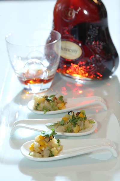 hennessy x o appreciation grows 2013 the art of canapes with chef lee anne wong. Black Bedroom Furniture Sets. Home Design Ideas