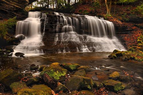 longexposure nature waterfall nikon pennsylvania circularpolarizer d90 neutraldensityfilter springfieldfalls pennsylvaniawaterfall