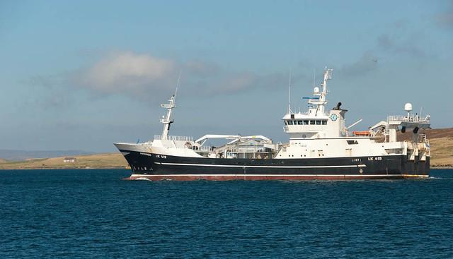 Pelagic trawlers - Shetland
