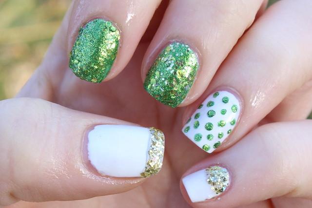 St. Patrick's Nails