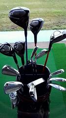 2013/3/17現在のゴルフクラブセッティングと飛距離表。タイトリスト2010年モデルで揃えています。
