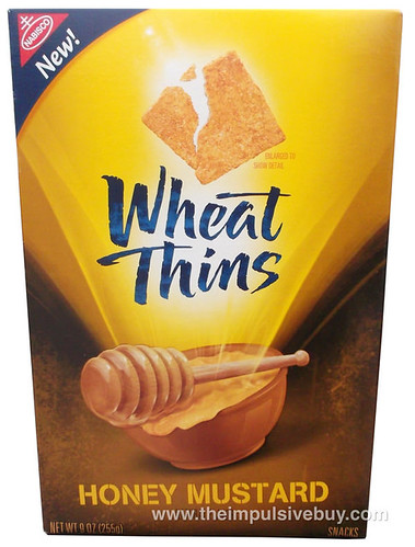 Nabisco Honey Mustard Wheat Thins