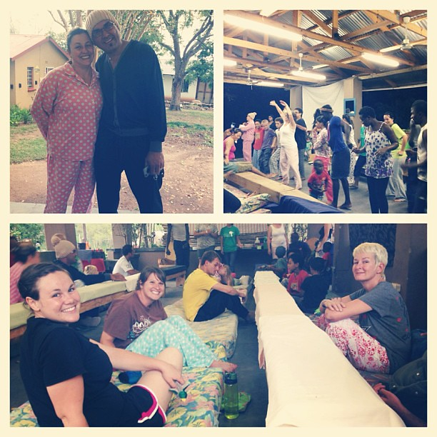 The DTS hosted an awesome pajama night tonight.