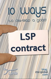 10 ways to develop a good LSP contract