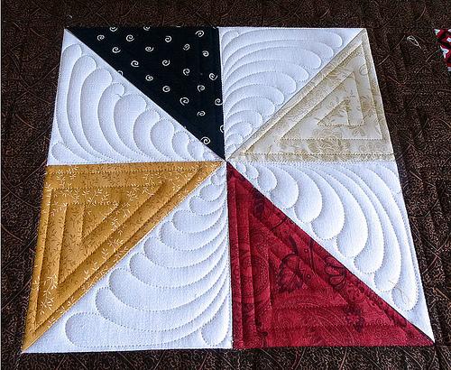Okiciyap 2013 Pinwheel Block~Pam from Calif