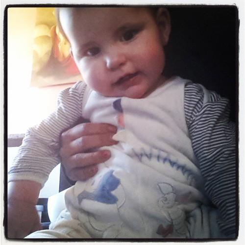 Porte la tenu #winnie de son frère bébé #disney # bébé