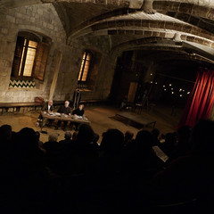 Presentación libro Teatres de Barcelona