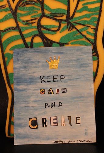 Keep Calm and Create by Stimpdawg