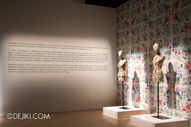 Gucci Flora Icon exhibition
