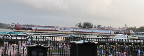 Iron Man 3 Monorail